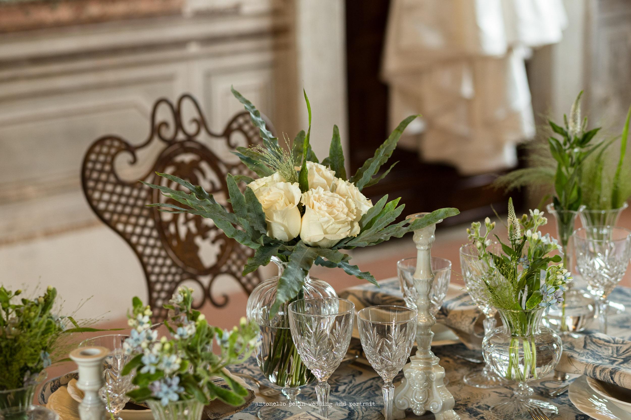allestimento floreale, palazzo novello,montichiari